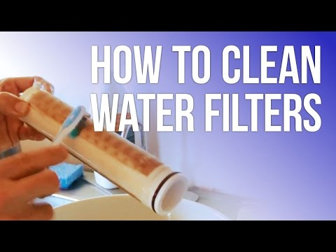 How to Clean the Water Filters in an Earthship