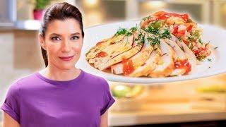 Полезно и вкусно | Куриные грудки с рисом и овощами