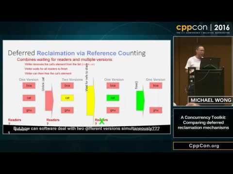 "CppCon 2016: ""A lock-free concurrency toolkit for deferred reclamation and optimistic speculation"""