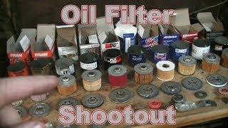 Oil Filter Shootout