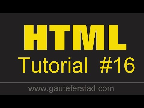 HTML5 Tutorial 16 - The New DOCTYPE In HTML5