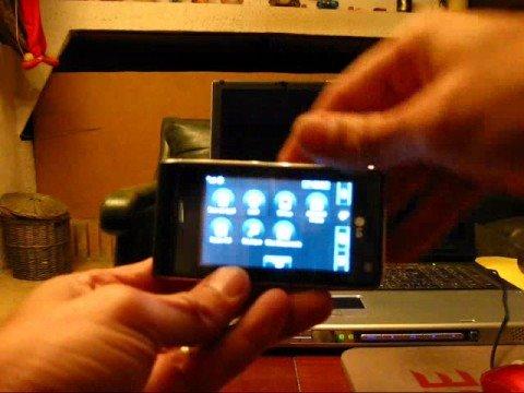 LG KU990 Viewty Flip (Video Fake)