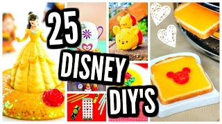 25 DIY Projects! Disney Room Decor, Slime, Crafts, Beauty And The Beast
