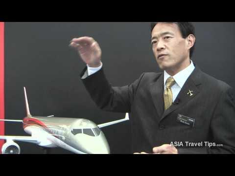 Mitsubishi Regional Jets (MRJ) Interview - HD