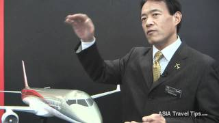 Mitsubishi Regional Jets (MRJ) Interview - HD