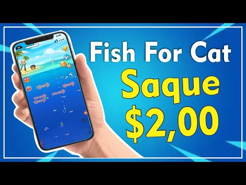 FISH FOR CAT - APP NOVO COM SAQUE MÍNIMO DE $2,00 DÓLARES | 2020✔️