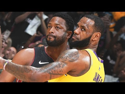 BEST Highlights From LeBron James Vs Dwyane Wade LAST EVER Duel | December 10, 2018