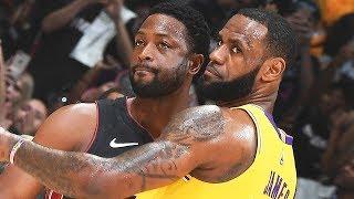 BEST highlights from LeBron James vs Dwyane Wade LAST EVER Duel   December 10, 2018