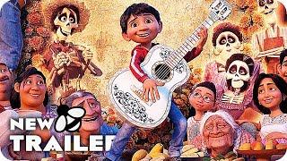 Coco Clips, Featurette & Trailer 4K UHD (2017) Disney Pixar Movie