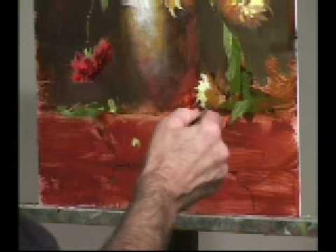 Robert A. Johnson: Painting Dahlias