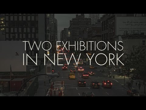 Two Art Exhibitions in New York, 2017