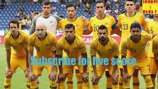 Live: Denmark vs Australia 2018 FIFA world cup score || 1-1 || Football match today