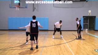 """Setting Screens """"Down Screen Example"""" for Youth Basketball"""