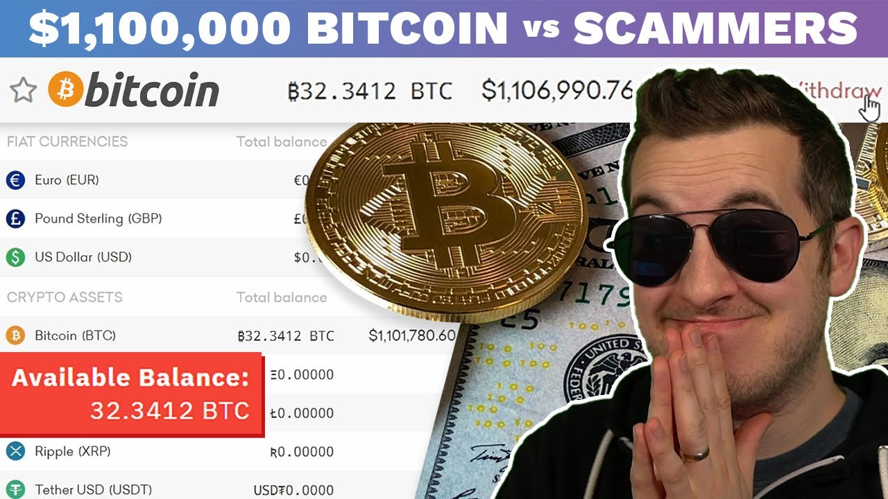 When Scammers Think You're A Bitcoin Millionaire
