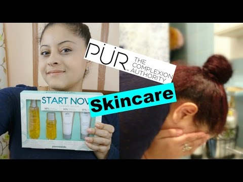 PUR MINERALS SKIN CARE | FIRST IMPRESSION REVIEW