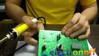 Как выпаивать электронные компоненты паяльной станцией и феном
