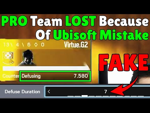 Losing PRO League Match Because Of a Hidden Flaw In Siege Design - Rainbow Six Siege  