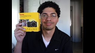 kodak FZ152 unboxing and review