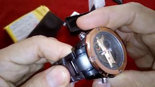 Unboxing Aliexpress !!! Relógio Naviforce Modelo NF 9088 (PT- BR Brasil)