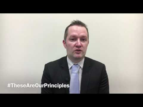 #TheseAreOurPrinciples | James Chalmers - Regius Professor of Law, University of Glasgow