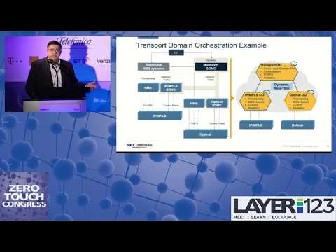 ZTA Congress 2018 - The Path to Zero Touch with Domain Orchestration