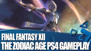 Final Fantasy XII The Zodiac Age - New PS4 Gameplay