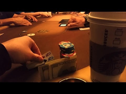 Live Poker Action in Las Vegas--Daily Vlog #051