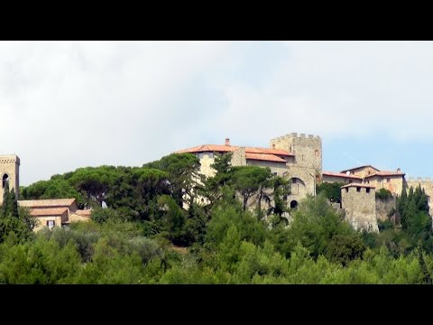 Visit at La Scarzuola and Castello di Montegiove, Umbria, Italy
