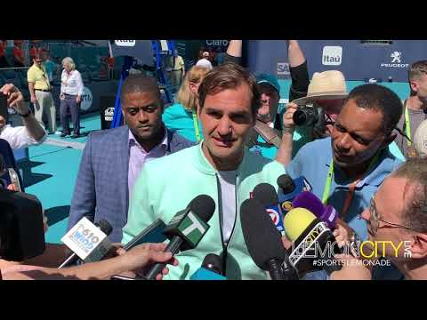 Miami Open 2019 Day One | Roger Federer and Serena Williams | March 20th 2019