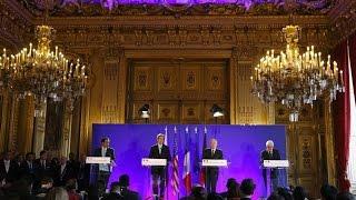 أخبار عربية - اختتام اجتماع باريس حول حلب.. كيري: النظام ارتكب جرائم حرب