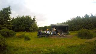 Wicklow Way Hut Camping Day