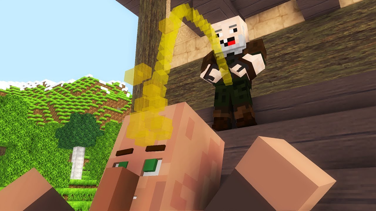 Villager Life 1-3  - Minecraft animation