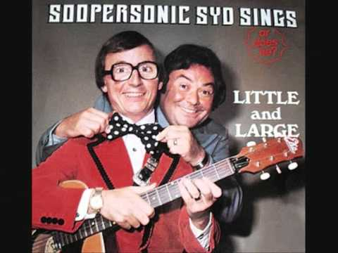 LITTLE AND LARGE  'Telephone Man'  1977 45rpm