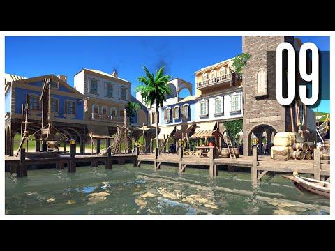 Planet Coaster - Ep.09 : The Small Town & Shipyard!