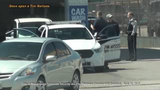"City of Mississauga Corporate Security Response Unit ""681"" at Mavis Car Wash"
