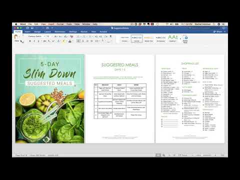 Done For YOU. 5 day slim down - weight loss  program for health coaches by  Rachel Feldman