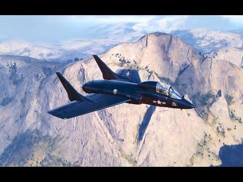 World of Warplanes Chance-Vought F7U Cutlass gameplay