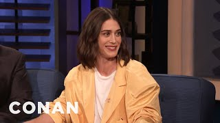 Lizzy Caplan Is Not Cut Out For Farm Life - CONAN on TBS