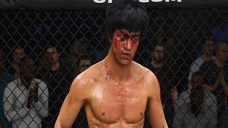 БРЮС ЛИ(BRUCE LEE) ХУЛИГАНИТ в UFC 3 ТОП КИКЕР