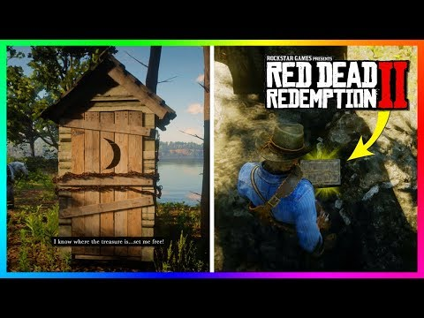 Finding The Braithwaite & Gray's SECRET Treasure In Red Dead Redemption 2 - FREE GOLD BARS! (RDR2)