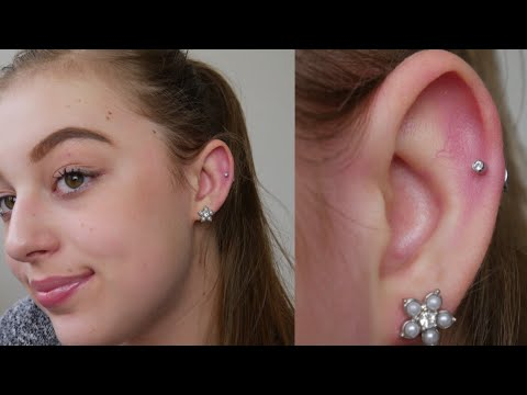 My Helix Cartilage Piercing Experience Cost Pain More