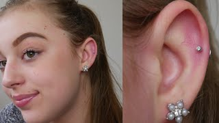 MY HELIX CARTILAGE PIERCING | EXPERIENCE, COST, PAIN & MORE