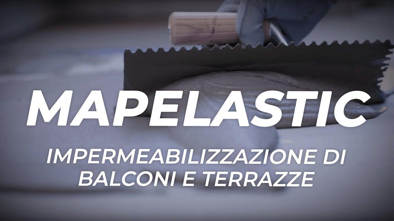 MAPEI Mapelastic  limpermeabilizzante per balconi e terrazze  YouTube