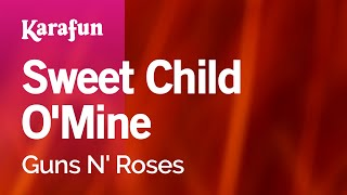 Karaoke Sweet Child O 39 Mine Guns N 39 Roses