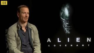 Michael Fassbender on THAT kissing scene in Alien: Covenant