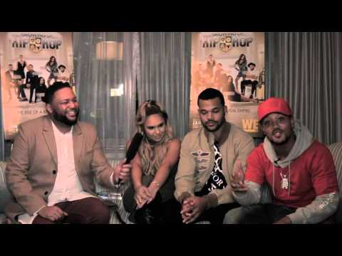 Misster Ray interviews cast of WEtv's Growing Up Hip Hop Part 1