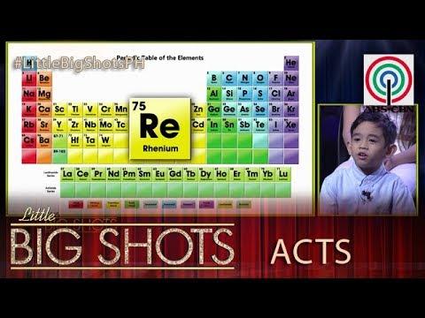 Little Big Shots Philippines: 4-year-old Renzo | The Kiddie Chemistry Guru