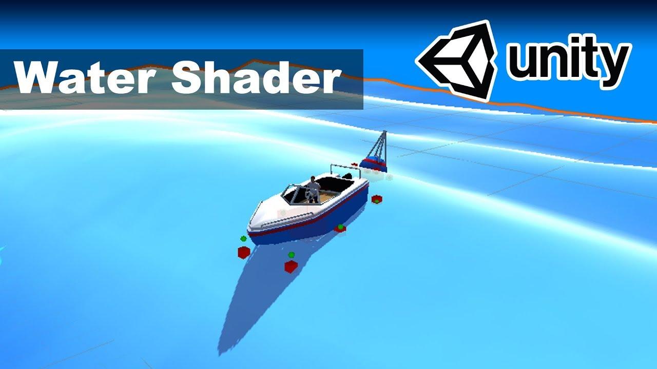 Water Shader - Unity Ocean Tutorial 2/4