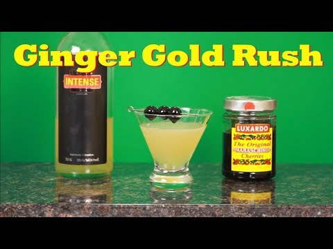 How To Make The Ginger Gold Rush | Drinks Made Easy