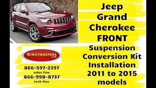 How To Fix And Replace The Front Struts On A Jeep Grand Cherokee